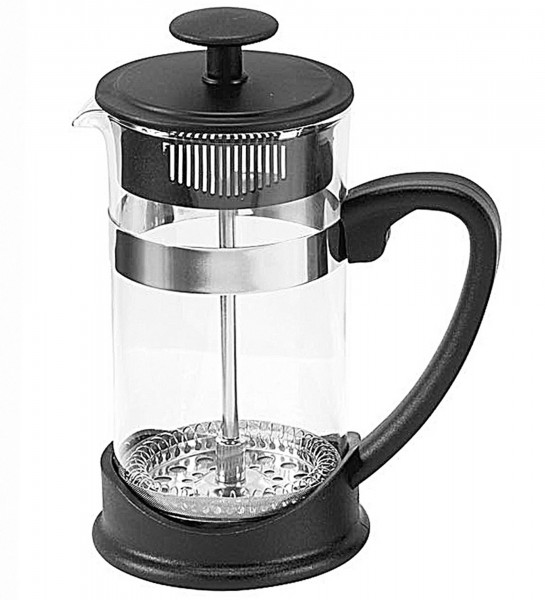 My Basics French Press Kaffeebereiter Kaffeekanne Kunststoff 0,35 Liter 3 Tassen